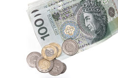 Polish zloty Stock Image