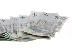 Polish zloty Stock Photos