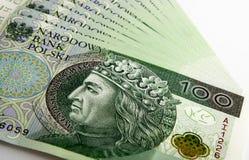Polish Zloty Royalty Free Stock Photography