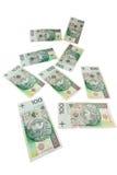 Polish zloty banknotes Stock Photography