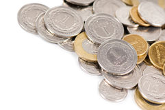 Polish zloty coins Stock Photos