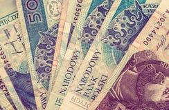 Polish Zloty Money Concept Stock Images
