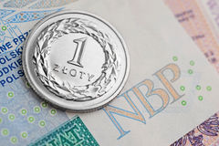 Polish Zloty -new banknotes Stock Photography