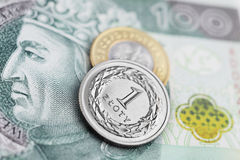 Polish Zloty -new banknotes Royalty Free Stock Image