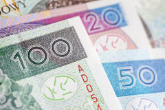 Polish Zloty -new banknotes Stock Images