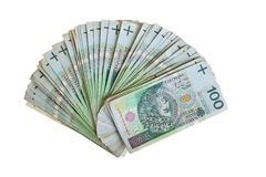Polish zloty paper money Stock Photos