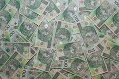 Polish Zloty. PLN. Background 2 Royalty Free Stock Photos