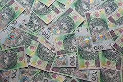 Polish Zloty. PLN. Background 4 Stock Images