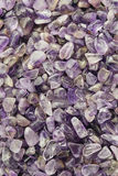 Polished Amethyst Background Stock Images