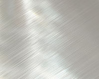 Polished brushed steel metal  Royalty Free Stock Photos