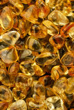 Polished Citrine Background Royalty Free Stock Photography