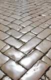 Polished cobblestones Stock Image