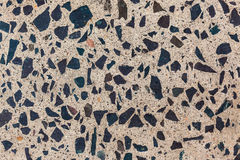 Polished Concrete Granite Floor stock image