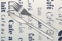 Polished cutlery Royalty Free Stock Photo
