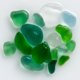 Polished glass. Beautiful sleek polished wet glass royalty free stock photography