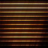 Polished gold metal plate with stripe pattern Royalty Free Stock Photo
