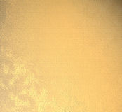 Polished golden plate Royalty Free Stock Images