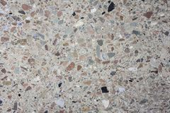 Polished granite and marble texture multi-colored background in ancient building royalty free stock photography