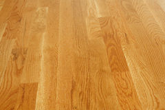 Polished Hardwood Floor Royalty Free Stock Photo