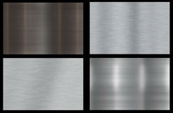 Polished Metal Background. Polished Metal Abstract Background Texture With Smoothening Royalty Free Stock Image