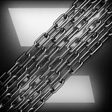 Polished metal background. 3D rendered royalty free stock photos