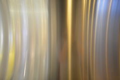 Polished metal plate Stock Images