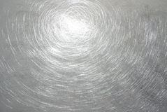 Polished metal. Polished surface part of the metal structure Stock Image