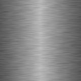 Polished metal texture. In silver shades stock illustration