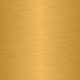 Polished metal texture. In golden shades Royalty Free Stock Photography
