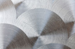 Polished metal texture Stock Photography