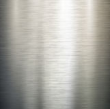 Polished metal texture. Royalty Free Stock Photo