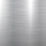 Polished metal texture. Polished square metal texture background. Vector illustration Stock Photography