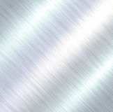 Polished metal texture. Steel brushed metallic background, vector illustration Stock Image