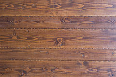 Polished painted wooden abstract texture. Wall design Stock Photography