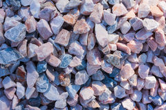Polished pebble stones Stock Image
