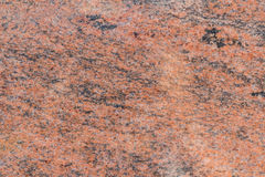 Polished Pink and Black Granite Stock Photography