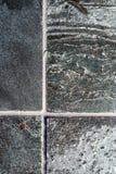 Polished quartzite tile flooring Stock Photography