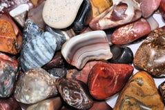 Polished rocks Stock Photos