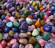 Polished Rocks Stock Image