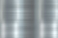 Polished Smoothened Metal Background Stock Image