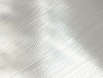 Polished steel metal texture Stock Photography