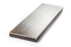 Polished steel texture Royalty Free Stock Image