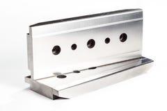 Polished steel texture Stock Image