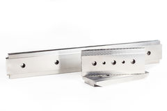 Polished steel texture Stock Photo