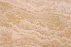 Polished stone closeup on wall Stock Photo