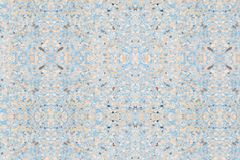 Polished stone floor old texture or rock marble and Blue cement background with copy space add text.  stock images