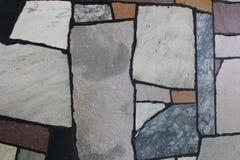 Polished stone path Royalty Free Stock Image