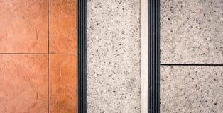 Polished stone staircase Stock Photos