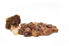Polished stones Royalty Free Stock Photography