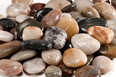 Polished Stones Stock Image